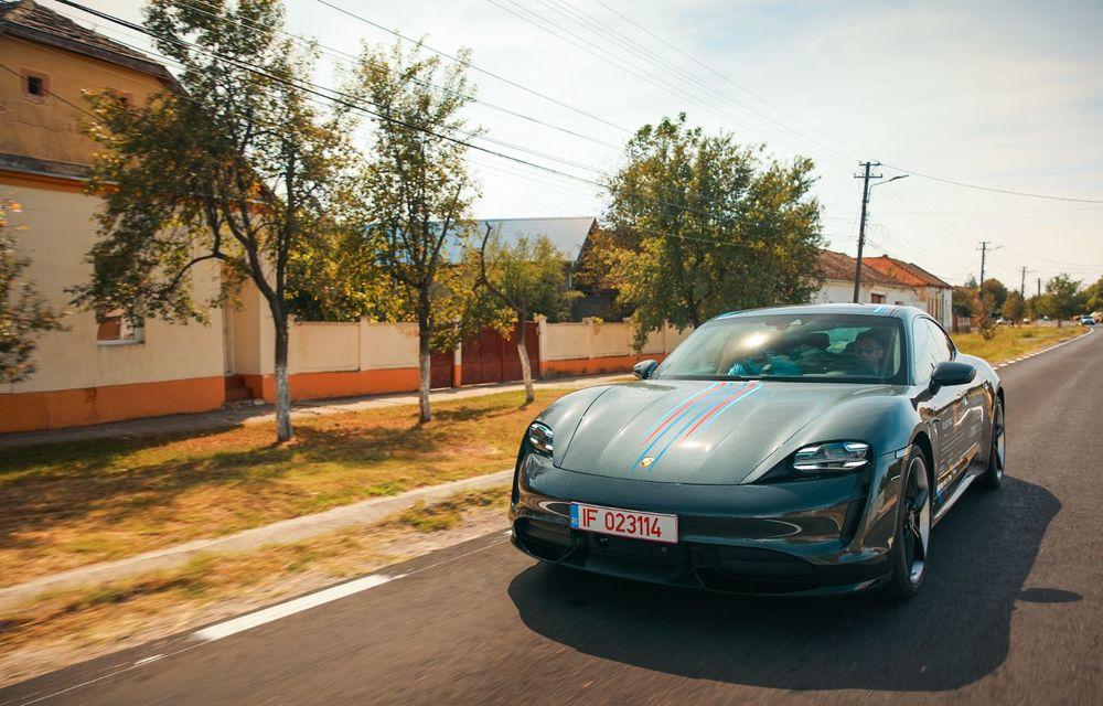 RAPORT FINAL: Porsche Taycan în #ElectricRomânia 2020: încărcare, consum, autonomie reală - Poza 32