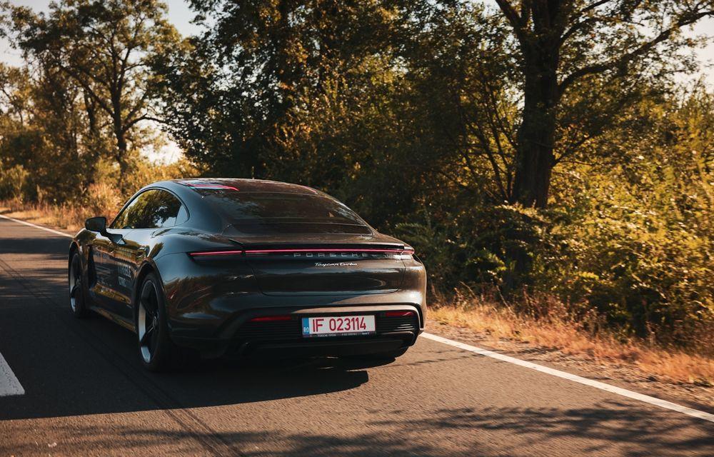 RAPORT FINAL: Porsche Taycan în #ElectricRomânia 2020: încărcare, consum, autonomie reală - Poza 19