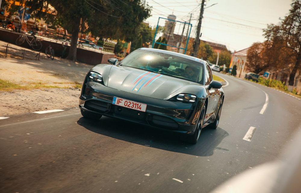 RAPORT FINAL: Porsche Taycan în #ElectricRomânia 2020: încărcare, consum, autonomie reală - Poza 10
