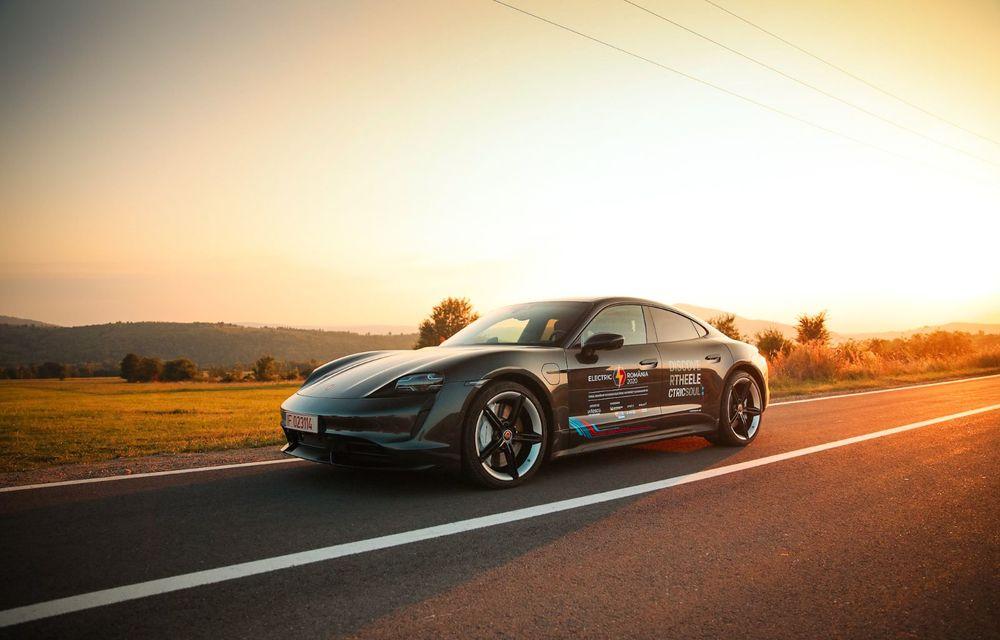 RAPORT FINAL: Porsche Taycan în #ElectricRomânia 2020: încărcare, consum, autonomie reală - Poza 46