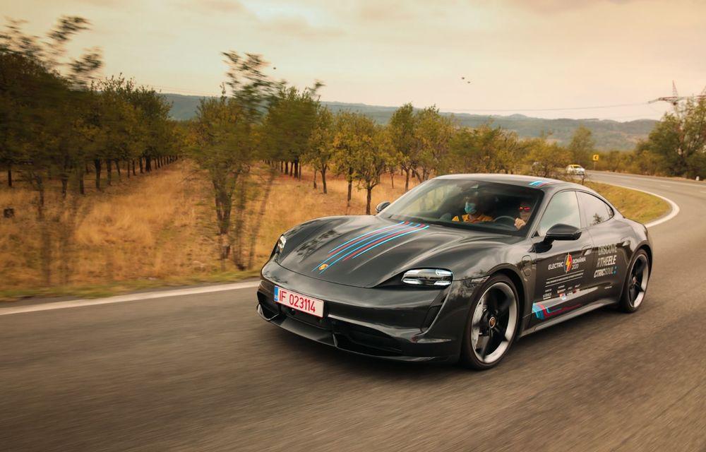 RAPORT FINAL: Porsche Taycan în #ElectricRomânia 2020: încărcare, consum, autonomie reală - Poza 17