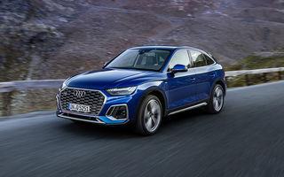Audi a prezentat Q5 Sportback: SUV-ul coupe va avea versiuni plug-in hybrid și variantă SQ5 cu 347 CP