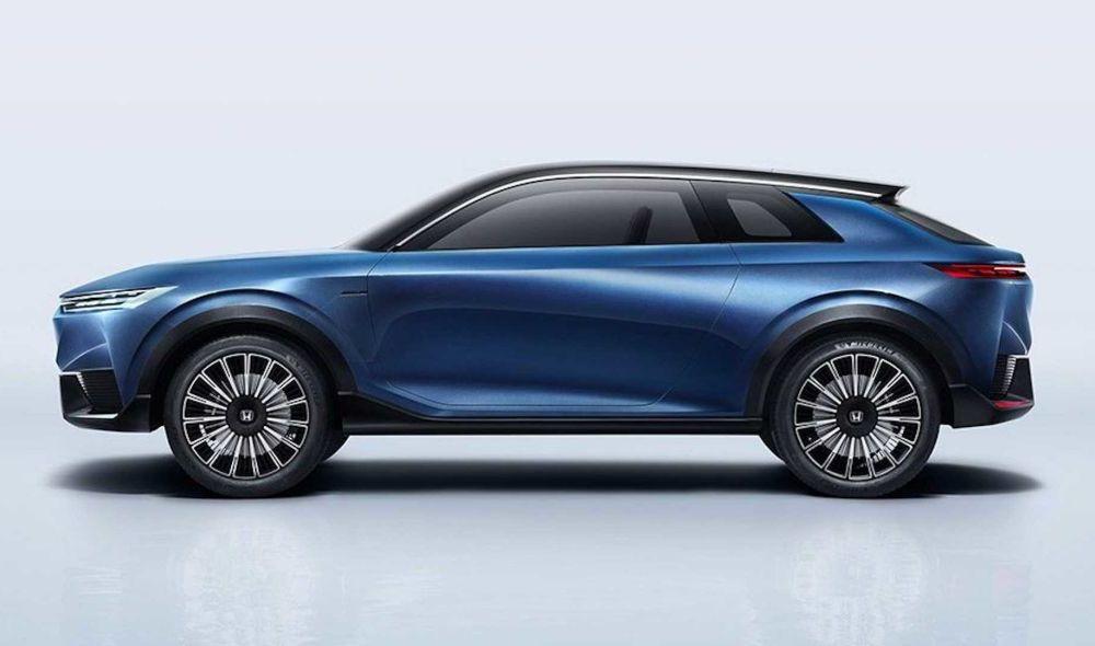 Honda a prezentat SUV E:Concept: prototipul anticipează viitorul model electric de serie al constructorului japonez - Poza 2