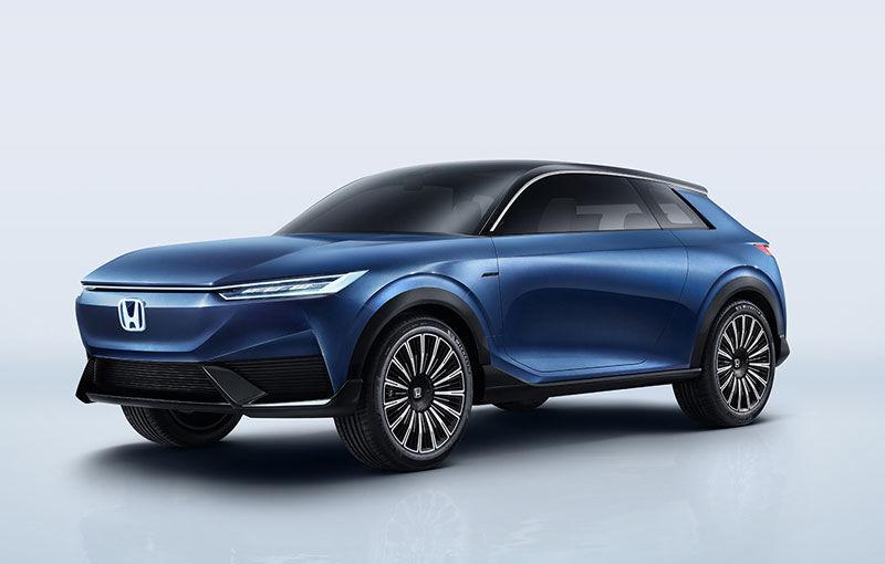 Honda a prezentat SUV E:Concept: prototipul anticipează viitorul model electric de serie al constructorului japonez - Poza 1