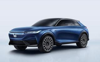 Honda a prezentat SUV E:Concept: prototipul anticipează viitorul model electric de serie al constructorului japonez