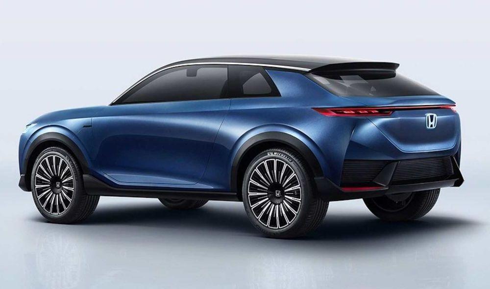 Honda a prezentat SUV E:Concept: prototipul anticipează viitorul model electric de serie al constructorului japonez - Poza 3
