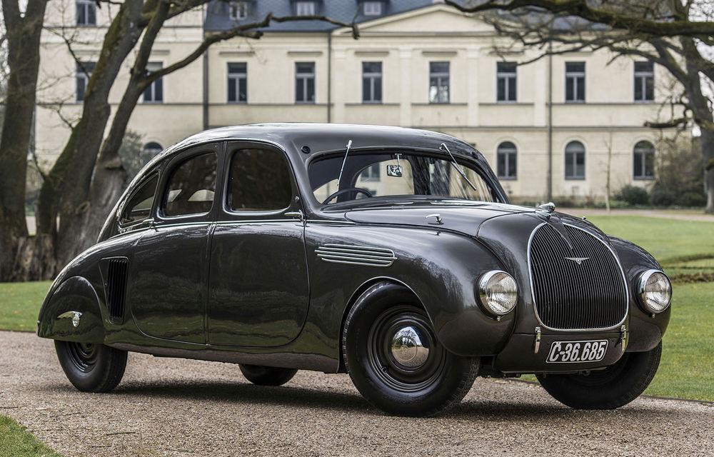 Momente speciale în familia Skoda: cehii sărbătoresc 85 de ani de la prezentarea prototipului 935 Dynamic - Poza 1