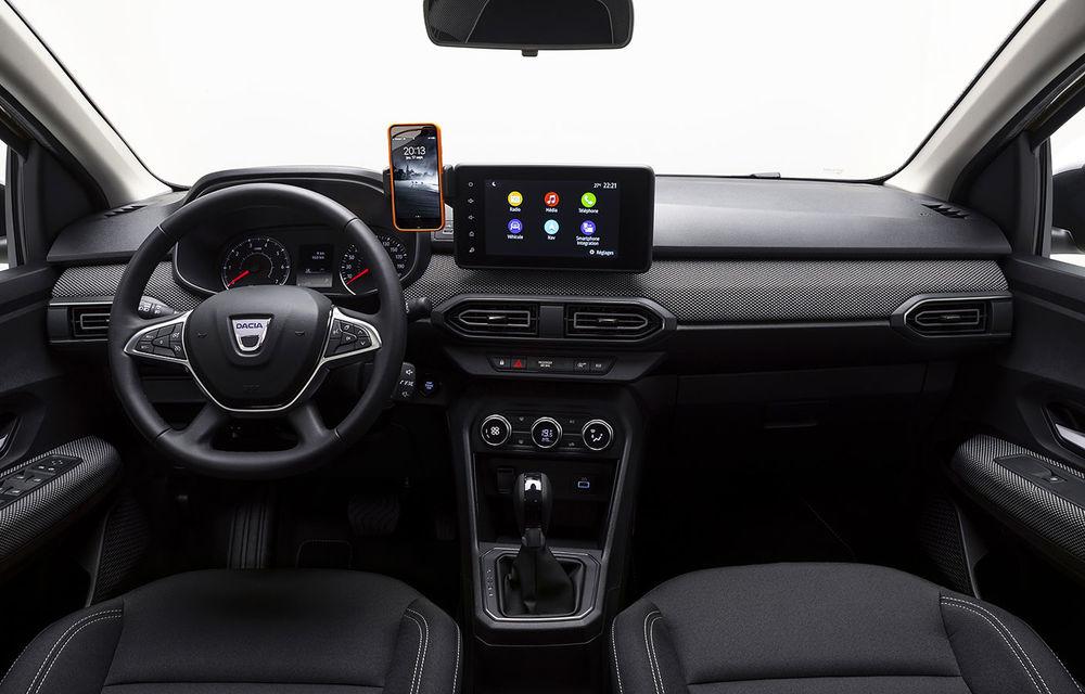 Noile Dacia Logan, Sandero și Sandero Stepway: design modern, interior îmbunătățit, cutie automată CVT și fără motorizări diesel - Poza 17