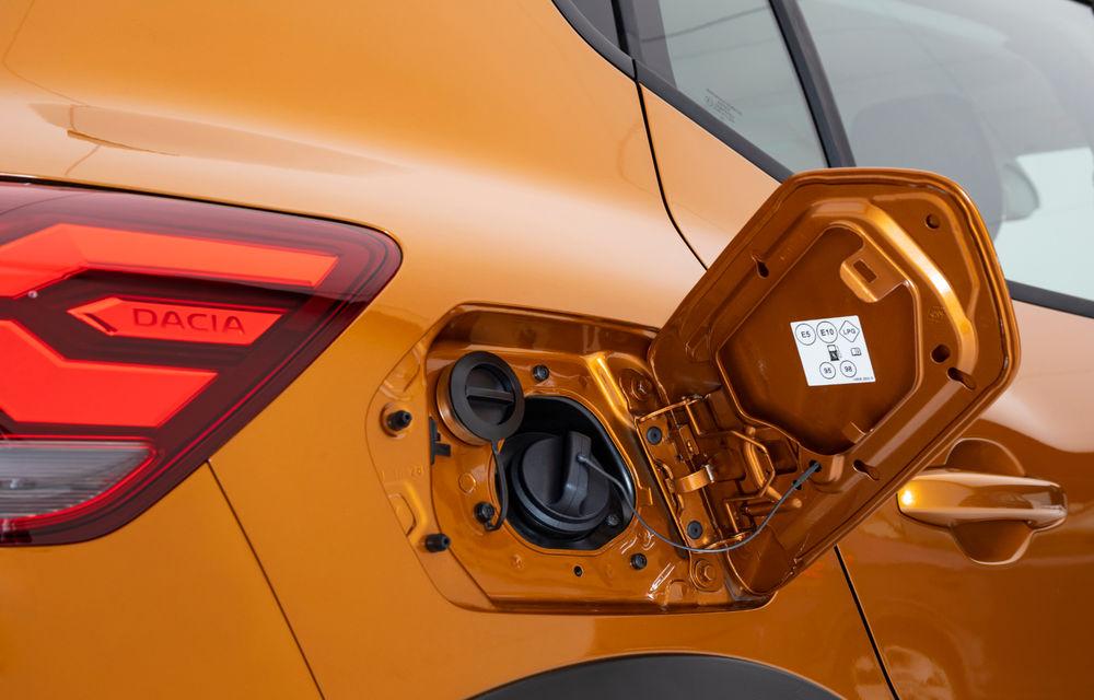 Noile Dacia Logan, Sandero și Sandero Stepway: design modern, interior îmbunătățit, cutie automată CVT și fără motorizări diesel - Poza 82