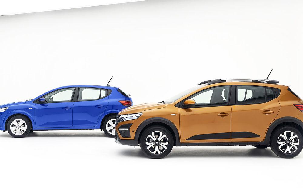 Noile Dacia Logan, Sandero și Sandero Stepway: design modern, interior îmbunătățit, cutie automată CVT și fără motorizări diesel - Poza 77