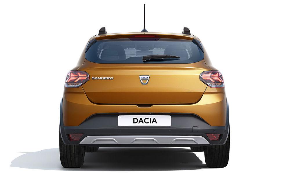 Noile Dacia Logan, Sandero și Sandero Stepway: design modern, interior îmbunătățit, cutie automată CVT și fără motorizări diesel - Poza 74