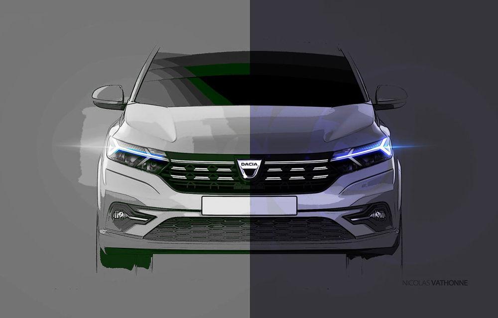 Noile Dacia Logan, Sandero și Sandero Stepway: design modern, interior îmbunătățit, cutie automată CVT și fără motorizări diesel - Poza 65
