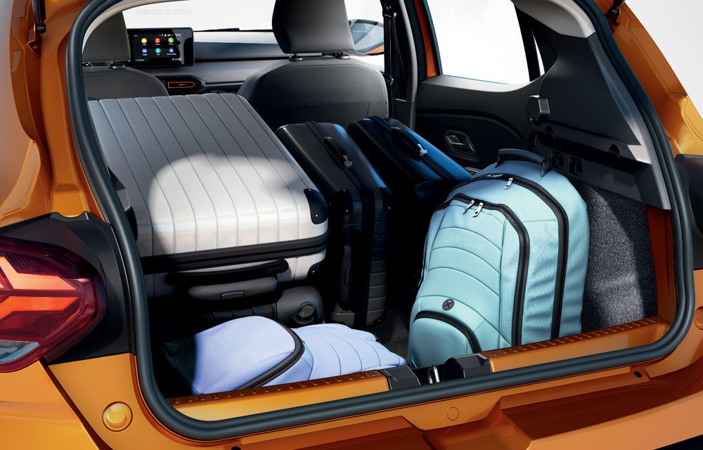 Noile Dacia Logan, Sandero și Sandero Stepway: design modern, interior îmbunătățit, cutie automată CVT și fără motorizări diesel - Poza 84
