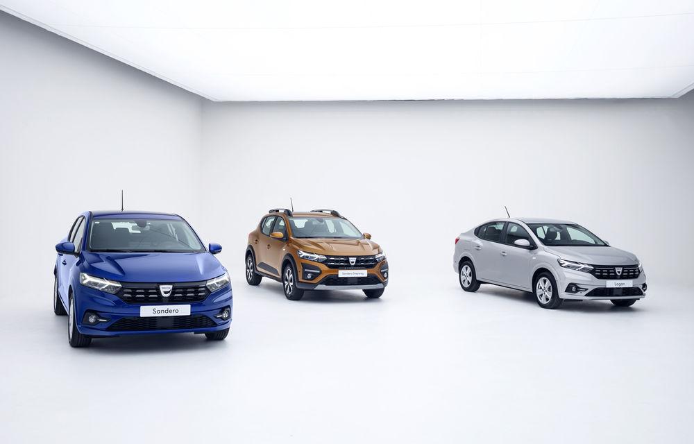Noile Dacia Logan, Sandero și Sandero Stepway: design modern, interior îmbunătățit, cutie automată CVT și fără motorizări diesel - Poza 1