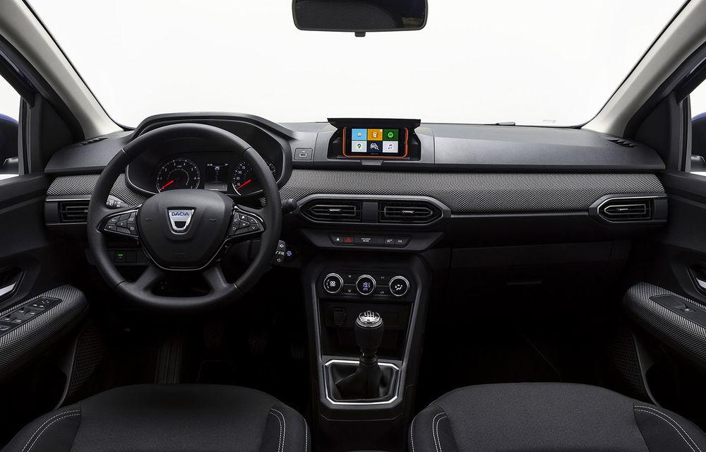 Noile Dacia Logan, Sandero și Sandero Stepway: design modern, interior îmbunătățit, cutie automată CVT și fără motorizări diesel - Poza 43