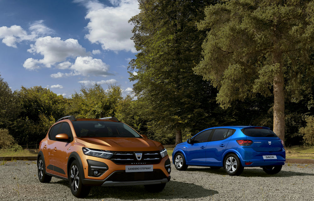 Noile Dacia Logan, Sandero și Sandero Stepway: design modern, interior îmbunătățit, cutie automată CVT și fără motorizări diesel - Poza 106