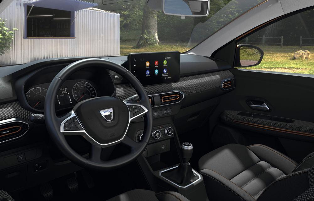Noile Dacia Logan, Sandero și Sandero Stepway: design modern, interior îmbunătățit, cutie automată CVT și fără motorizări diesel - Poza 116