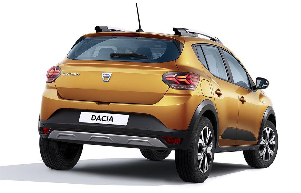 Noile Dacia Logan, Sandero și Sandero Stepway: design modern, interior îmbunătățit, cutie automată CVT și fără motorizări diesel - Poza 71