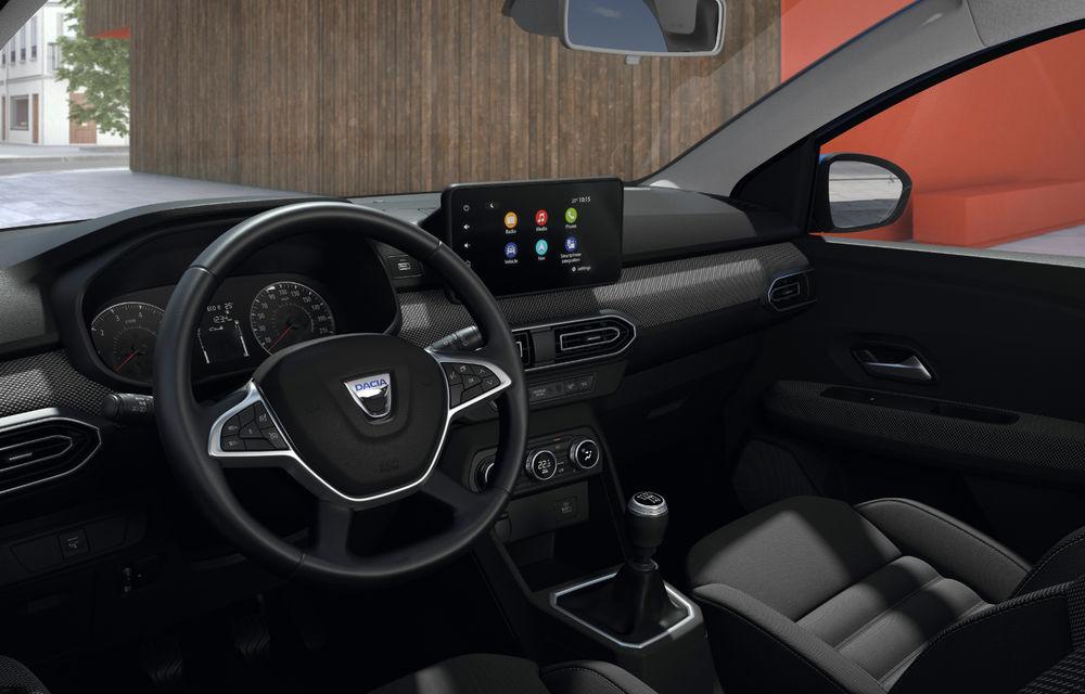 Noile Dacia Logan, Sandero și Sandero Stepway: design modern, interior îmbunătățit, cutie automată CVT și fără motorizări diesel - Poza 42