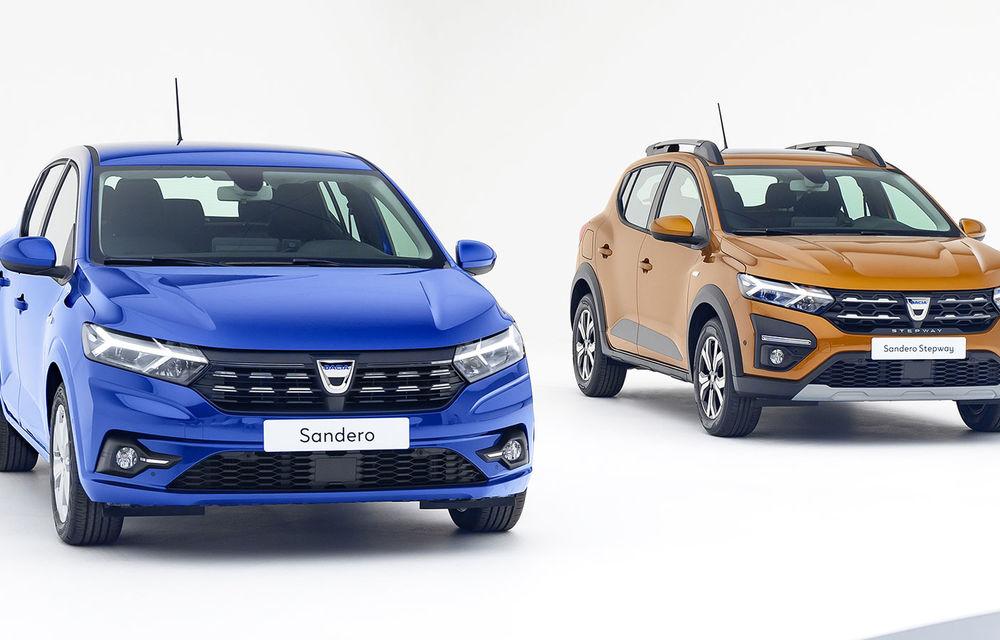 Noile Dacia Logan, Sandero și Sandero Stepway: design modern, interior îmbunătățit, cutie automată CVT și fără motorizări diesel - Poza 38