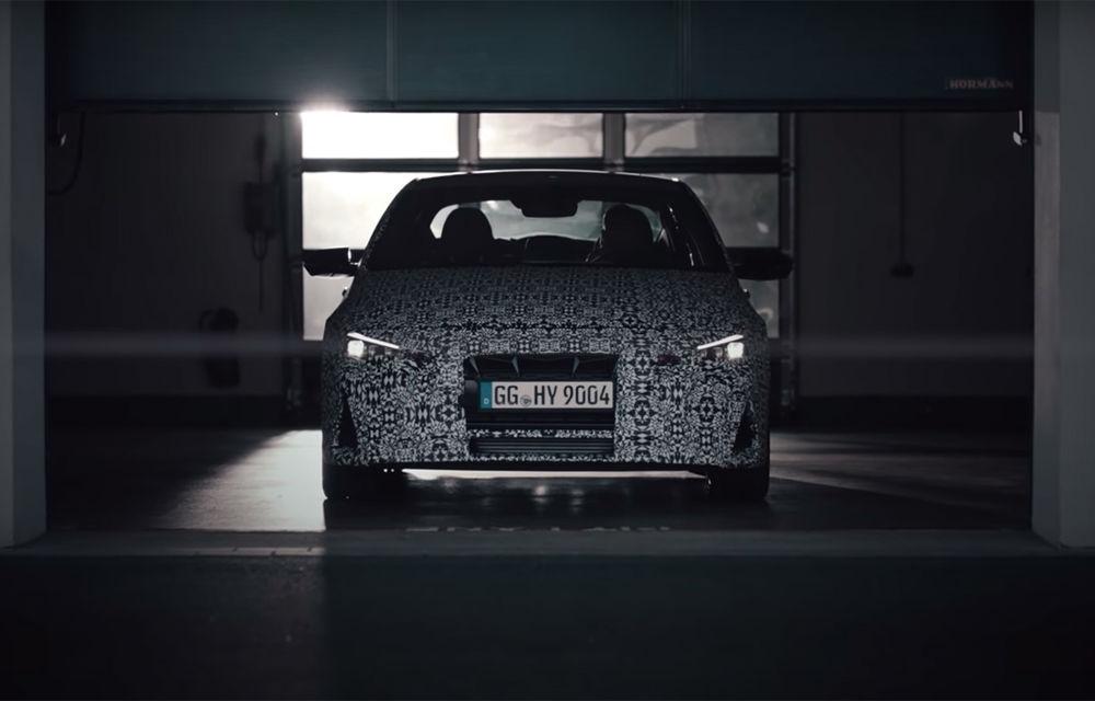 Gama de performanță Hyundai se mărește: producătorul asiatic a publicat primul teaser video cu viitorul Elantra N - Poza 1