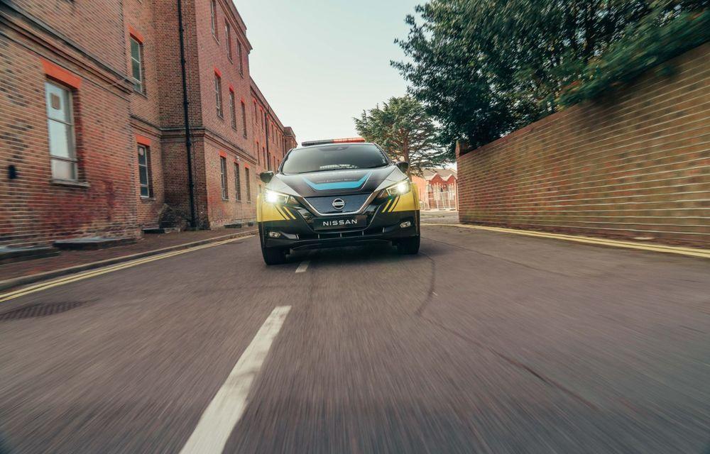 Nissan a lansat conceptul unui vehicul de intervenții bazat pe Leaf: prototipul poate livra energia electrică stocată în baterii către echipamentele casnice - Poza 10