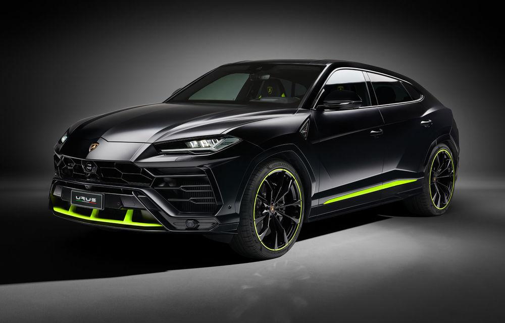 Lamborghini Urus primește noul pachet de design Graphite Capsule: patru noi culori de caroserie și jante de 23 inch - Poza 1