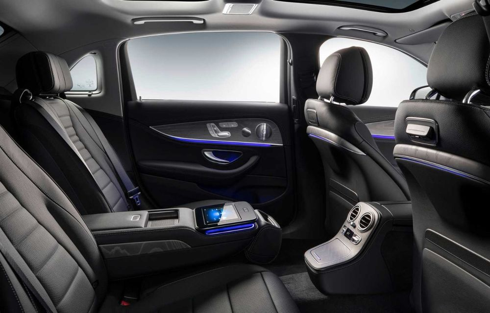 Mercedes-Benz a prezentat versiunea cu ampatament mărit a lui Clasa E facelift: modelul va fi disponibil doar pe piața din China - Poza 7