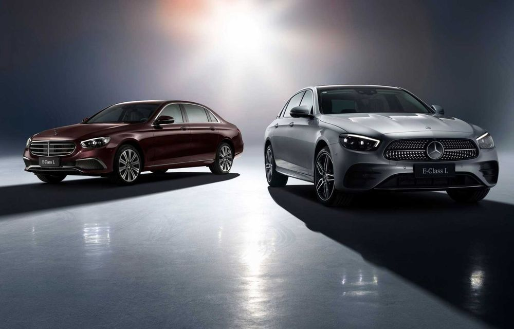 Mercedes-Benz a prezentat versiunea cu ampatament mărit a lui Clasa E facelift: modelul va fi disponibil doar pe piața din China - Poza 2