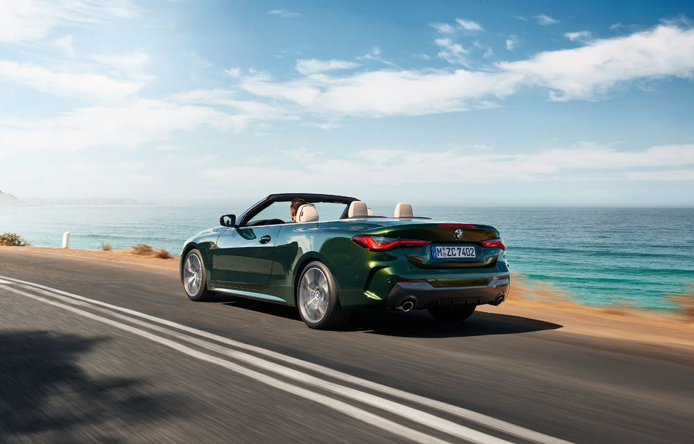 BMW a prezentat noul Seria 4 Convertible: plafon soft-top și versiune de top cu 374 de cai putere - Poza 4
