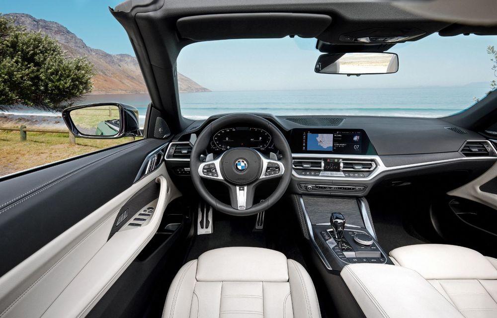 BMW a prezentat noul Seria 4 Convertible: plafon soft-top și versiune de top cu 374 de cai putere - Poza 5