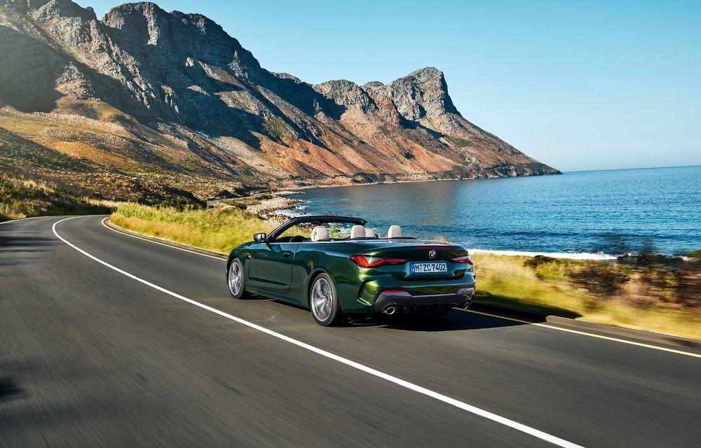 BMW a prezentat noul Seria 4 Convertible: plafon soft-top și versiune de top cu 374 de cai putere - Poza 3