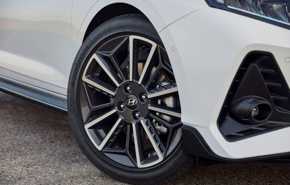 Noua generație Hyundai i20 primește versiune N-Line: noutăți de design și suspensii îmbunătățite - Poza 7
