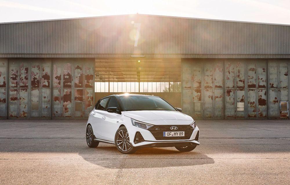 Noua generație Hyundai i20 primește versiune N-Line: noutăți de design și suspensii îmbunătățite - Poza 2