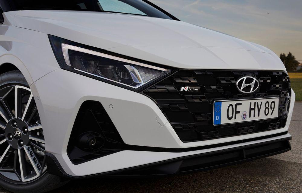 Noua generație Hyundai i20 primește versiune N-Line: noutăți de design și suspensii îmbunătățite - Poza 6