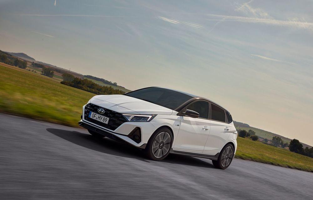 Noua generație Hyundai i20 primește versiune N-Line: noutăți de design și suspensii îmbunătățite - Poza 3