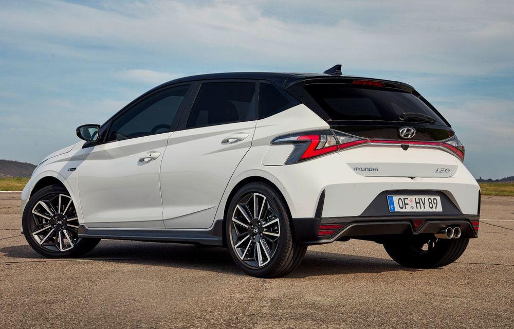 Noua generație Hyundai i20 primește versiune N-Line: noutăți de design și suspensii îmbunătățite - Poza 5