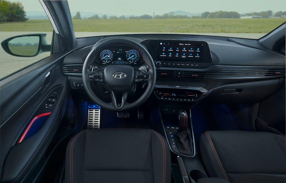 Noua generație Hyundai i20 primește versiune N-Line: noutăți de design și suspensii îmbunătățite - Poza 8