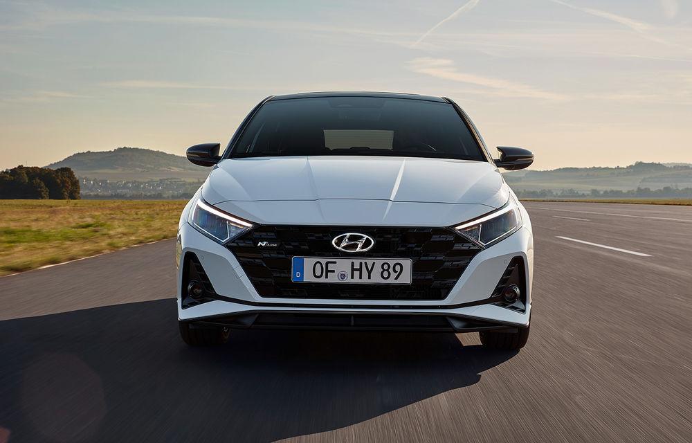 Noua generație Hyundai i20 primește versiune N-Line: noutăți de design și suspensii îmbunătățite - Poza 1