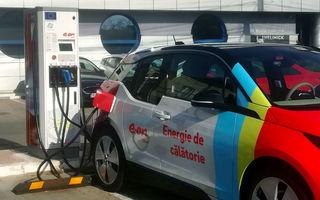 E.ON România a instalat o nouă stație de încărcare rapidă pentru mașini electrice pe ruta București-Constanța: putere maximă de 77 kW pentru stația din Fundulea