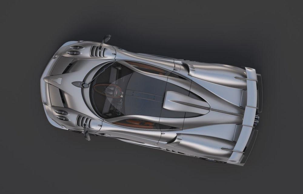 Pagani anunță Huayra R: noua versiune a hypercar-ului va fi prezentată în 12 noiembrie - Poza 1