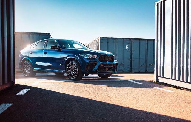 Test drive BMW X6 M