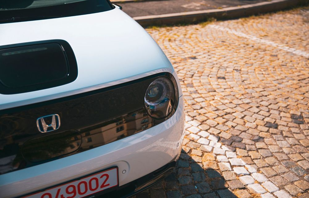 Honda versus jungla urbană: hibridul Jazz față în față în față cu electricul Honda e - Poza 22