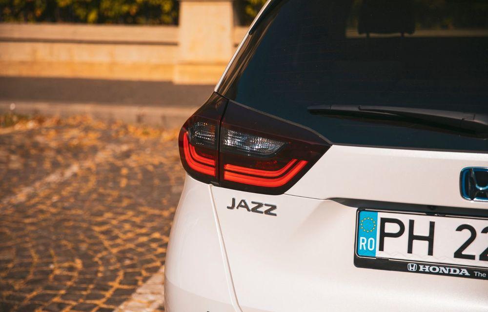 Honda versus jungla urbană: hibridul Jazz față în față în față cu electricul Honda e - Poza 47