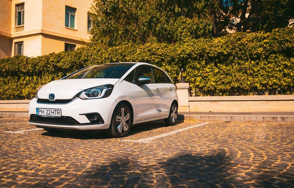 Honda versus jungla urbană: hibridul Jazz față în față în față cu electricul Honda e - Poza 40