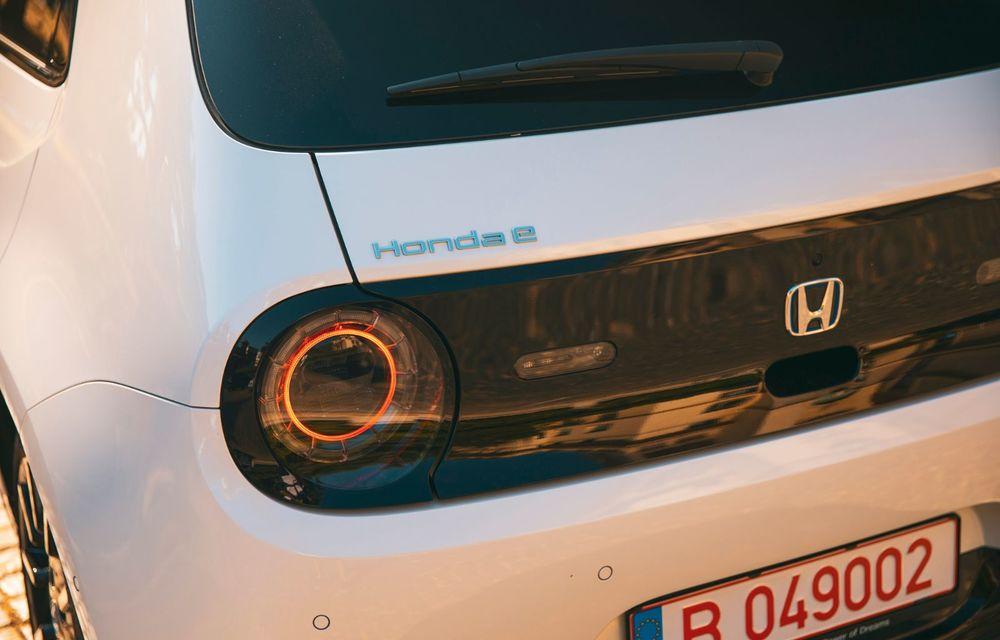Honda versus jungla urbană: hibridul Jazz față în față în față cu electricul Honda e - Poza 28