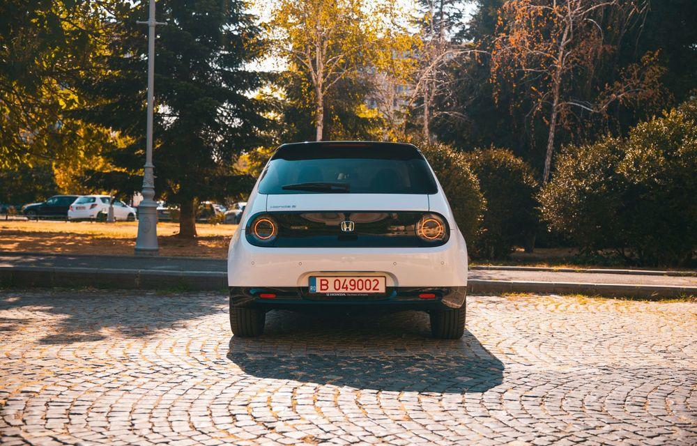 Honda versus jungla urbană: hibridul Jazz față în față în față cu electricul Honda e - Poza 27