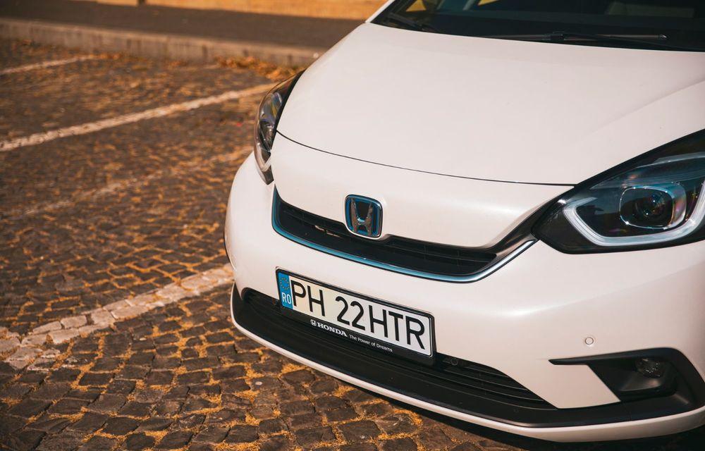 Honda versus jungla urbană: hibridul Jazz față în față în față cu electricul Honda e - Poza 42