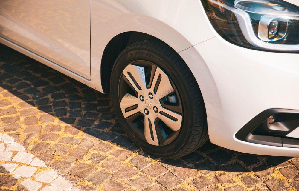 Honda versus jungla urbană: hibridul Jazz față în față în față cu electricul Honda e - Poza 43