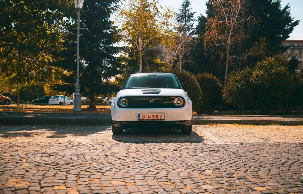 Honda versus jungla urbană: hibridul Jazz față în față în față cu electricul Honda e - Poza 21